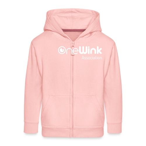 OneWink Association - Veste à capuche Premium Enfant