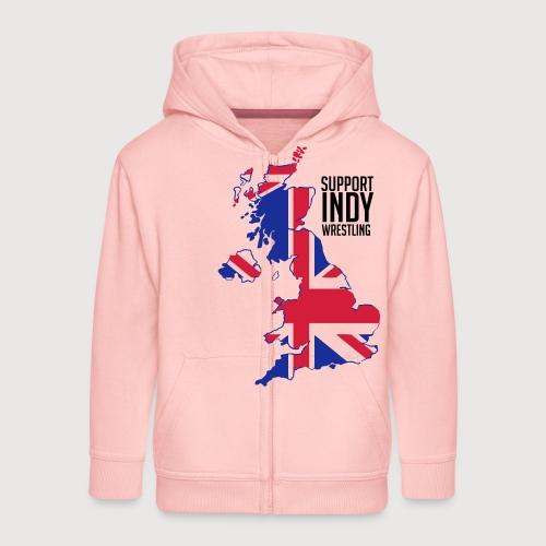 Indy Britain - Kids' Premium Zip Hoodie