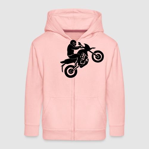 Motorradfahrer - Kinder Premium Kapuzenjacke