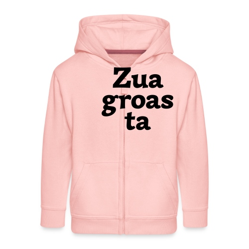 Zuagroasta - Kinder Premium Kapuzenjacke