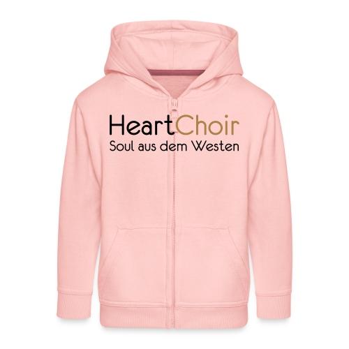 heartchoir schritzug ohne website - Kinder Premium Kapuzenjacke