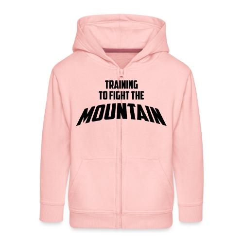 Fight the Mountain - Kinderen Premium jas met capuchon