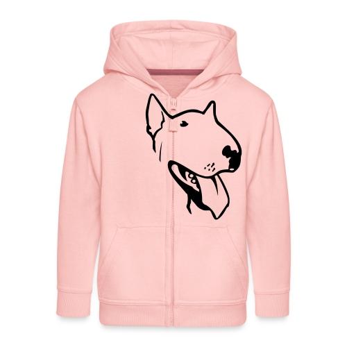 bull terrier2 - Kids' Premium Zip Hoodie