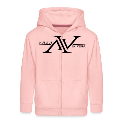 Nullius In Verba Logo - Kids' Premium Zip Hoodie