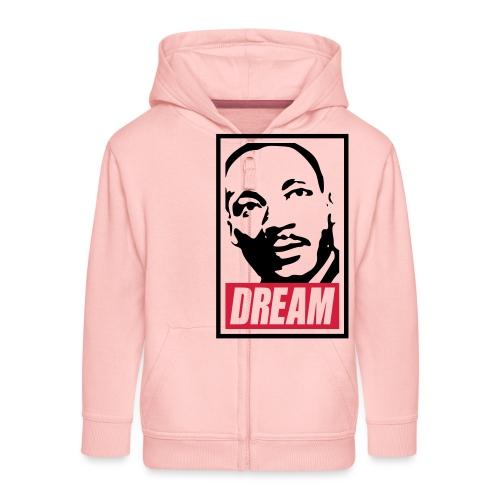 Obey x Dream MLK 2c_blanc - Veste à capuche Premium Enfant