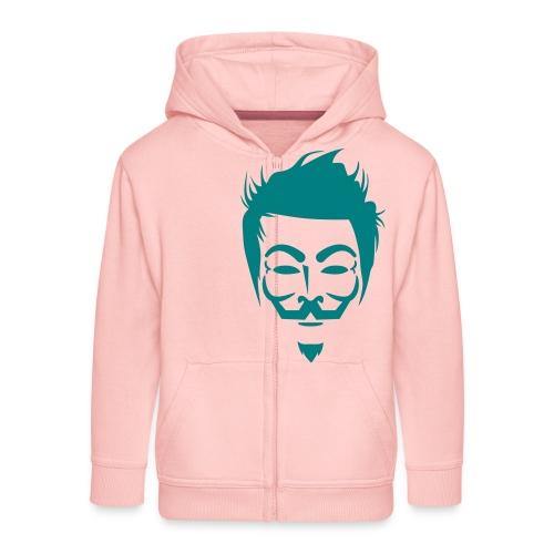 Anonymous Hipster - Veste à capuche Premium Enfant