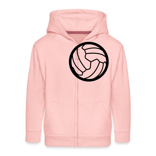 I <3 football! - Veste à capuche Premium Enfant