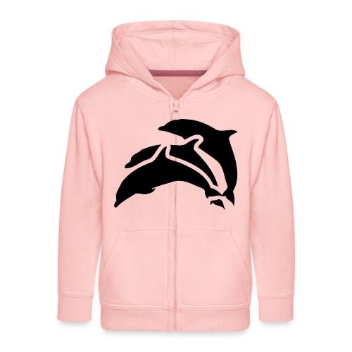 drei delfine - Kinder Premium Kapuzenjacke