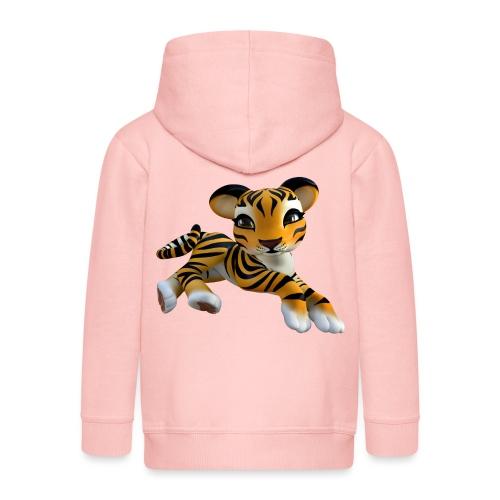 Little Tiger - Kinder Premium Kapuzenjacke