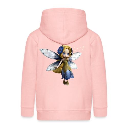 Blue-Sternchen Fairy - Kinder Premium Kapuzenjacke
