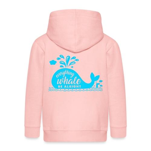Everything Whale Be Alright - Veste à capuche Premium Enfant
