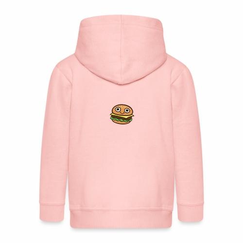 Burger Cartoon - Kinderen Premium jas met capuchon