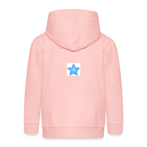 blue themed christmas star 0515 1012 0322 4634 SMU - Kids' Premium Zip Hoodie