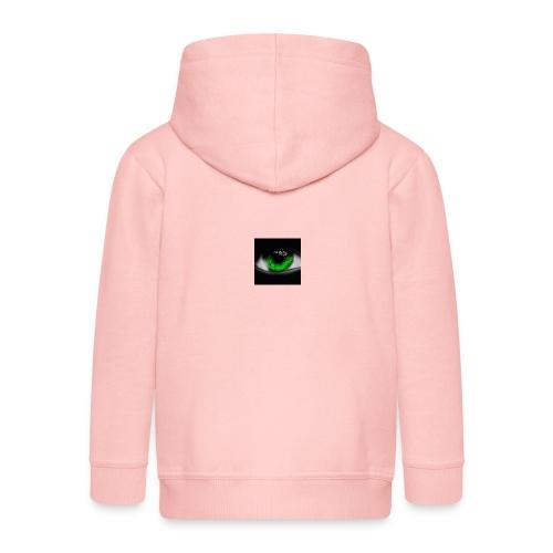 Green eye - Kids' Premium Zip Hoodie
