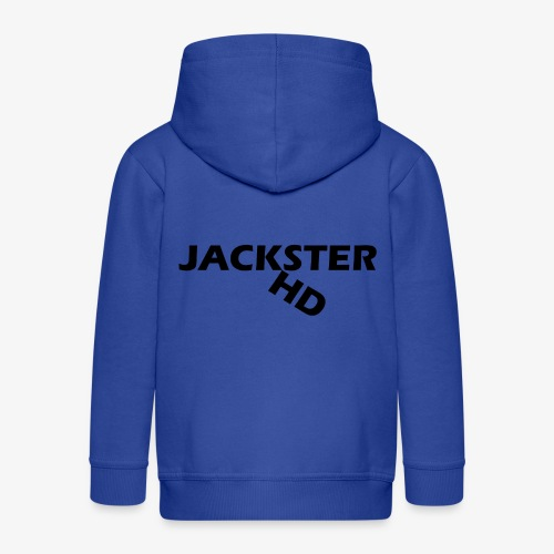 jacksterHD shirt design - Kids' Premium Zip Hoodie