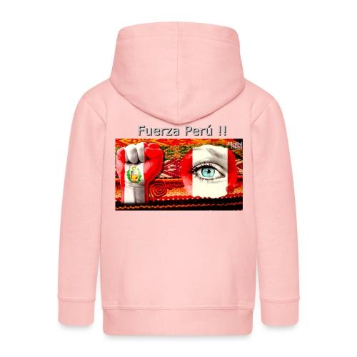 Telar Fuerza Peru I - Chaqueta con capucha premium niño