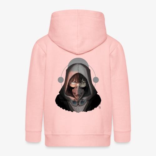 Le borgne - Veste à capuche Premium Enfant