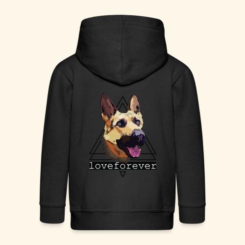SHEPHERD LOVE FOREVER - Chaqueta con capucha premium niño