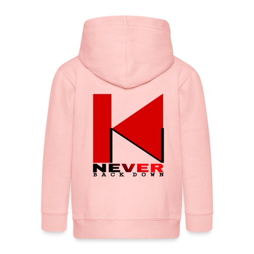 NEVER BACK DOWN - Veste à capuche Premium Enfant