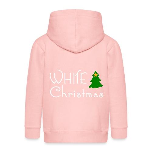 White Christmas - Kids' Premium Zip Hoodie