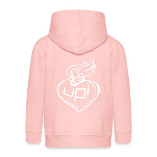 love up! - Kinder Premium Kapuzenjacke