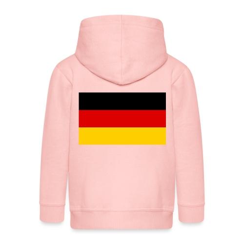 2000px Flag of Germany svg - Kinder Premium Kapuzenjacke