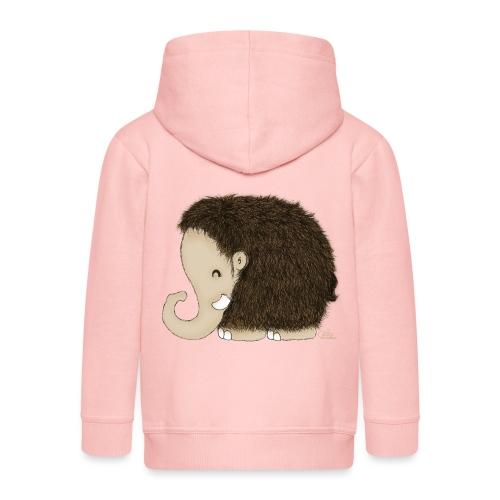 Mini-Mammut Michel - Kinder Premium Kapuzenjacke