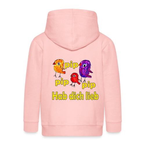 pip pip pip hab dich lieb - Kinder Premium Kapuzenjacke