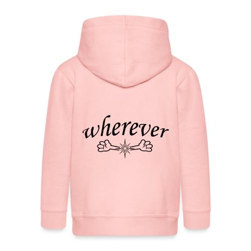 Abrazo wherever - Chaqueta con capucha premium niño
