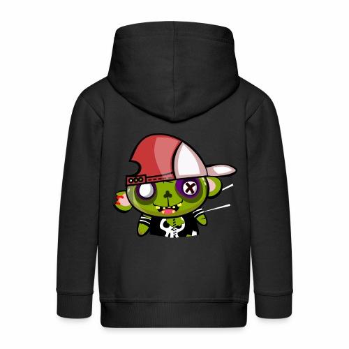 zombie hiphop - Chaqueta con capucha premium niño