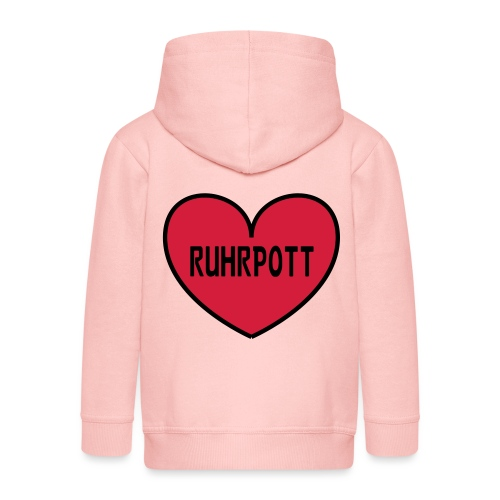 Ruhrpott Herz - Kinder Premium Kapuzenjacke