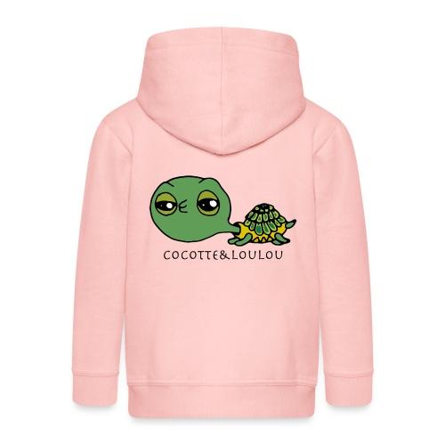 Bilba la tortue - Veste à capuche Premium Enfant