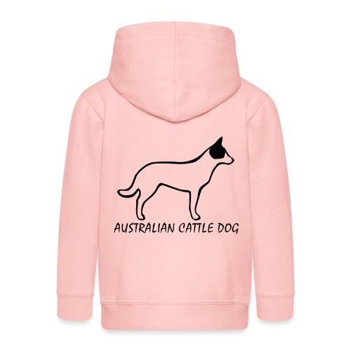 Australian Cattle Dog - Kinder Premium Kapuzenjacke