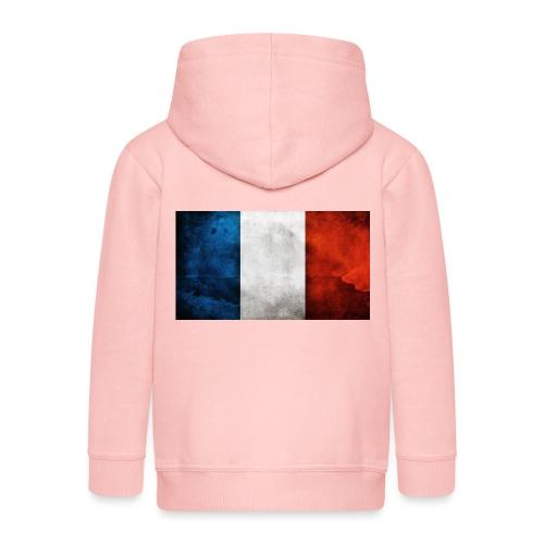 France Flag - Kids' Premium Hooded Jacket