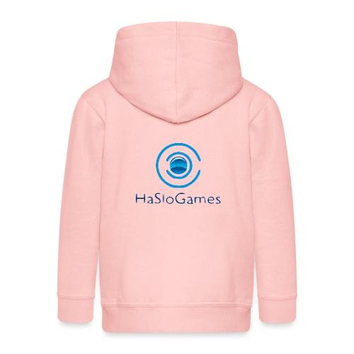 HasloGames Producten officieel logo - Kinderen Premium jas met capuchon