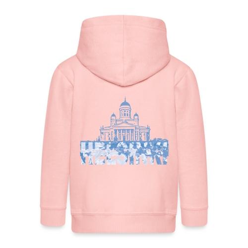 Helsinki Cathedral - Kids' Premium Zip Hoodie