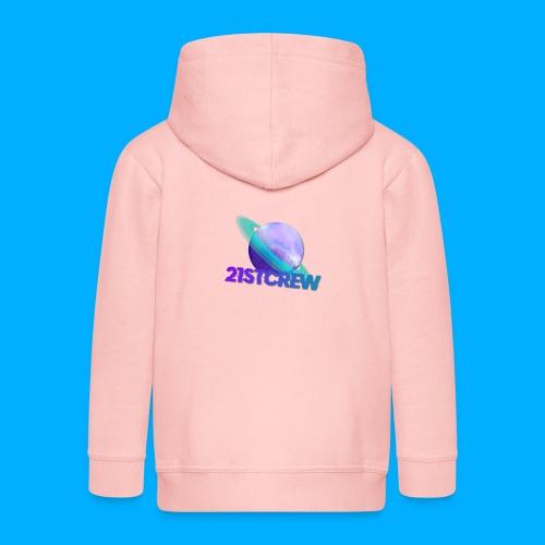 PurpleSaturn T-Shirt Design - Kids' Premium Zip Hoodie