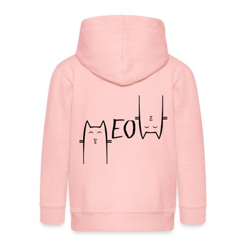 MEOW - Veste à capuche Premium Enfant