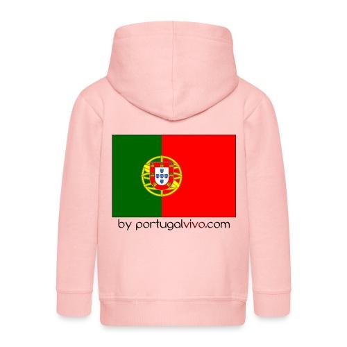 Drapeau Portugal - Veste à capuche Premium Enfant