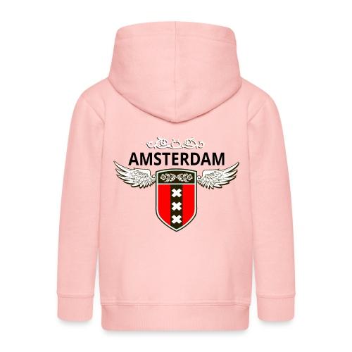 Amsterdam Netherlands - Kinder Premium Kapuzenjacke