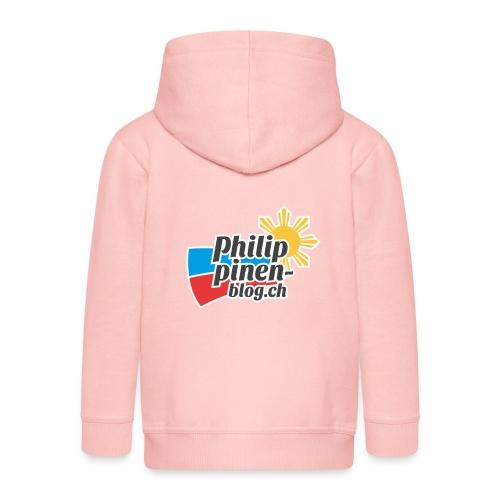 Das original Philippinen-Blog Logo - Kinder Premium Kapuzenjacke