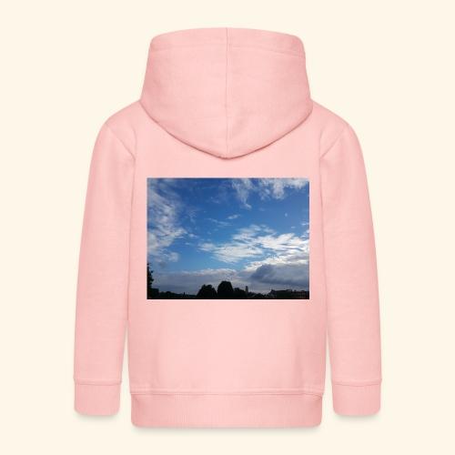 himmlisches Wolkenbild - Kinder Premium Kapuzenjacke