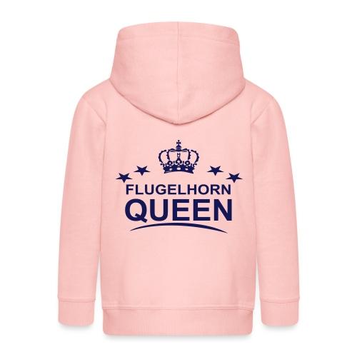 Flugelhorn Queen - Premium Barne-hettejakke