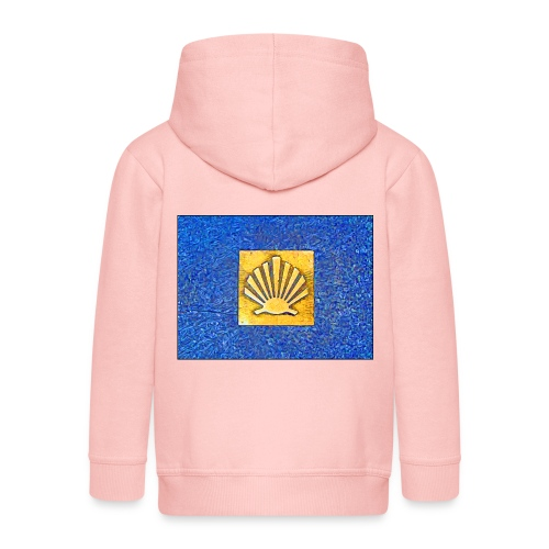 Scallop Shell Camino de Santiago - Kids' Premium Hooded Jacket