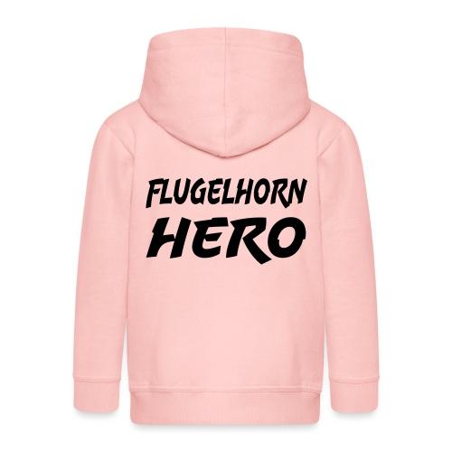 Flugelhorn Hero - Premium Barne-hettejakke