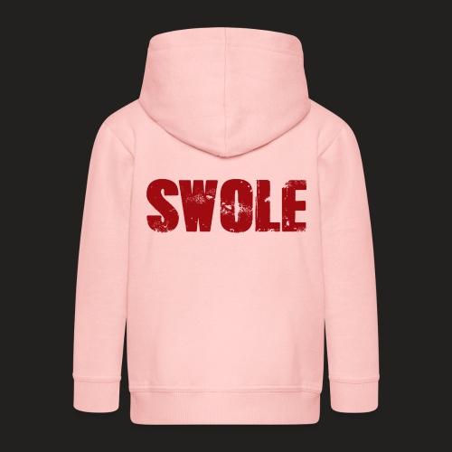 SWOLE RED - Kids' Premium Hooded Jacket