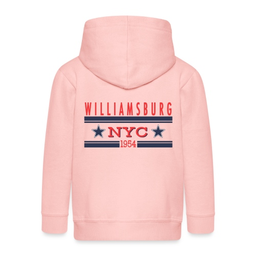 Williamsburg Hipster - Kinder Premium Kapuzenjacke