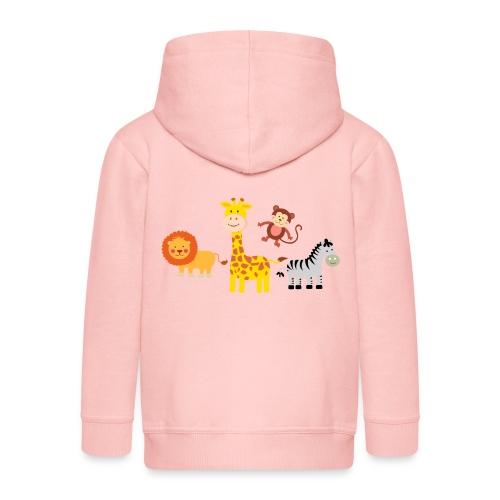 Safari - Djur - Premium-Luvjacka barn