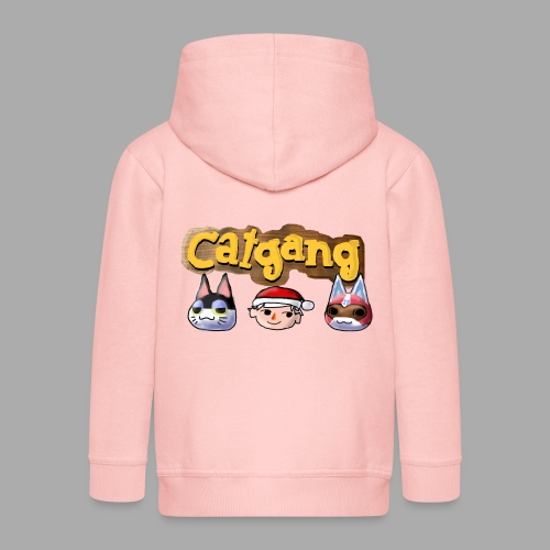Animal Crossing CatGang - Kinder Premium Kapuzenjacke