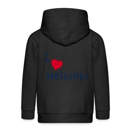 I Love Helsinki - Lasten premium hupparitakki